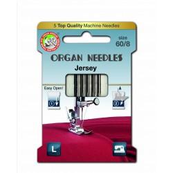 Machine Needles ORGAN JERSEY 130/705H - 60 - 5pcs/card