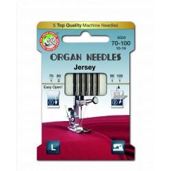 Machine Needles ORGAN JERSEY ASSORT 130/705H - 5pcs/card