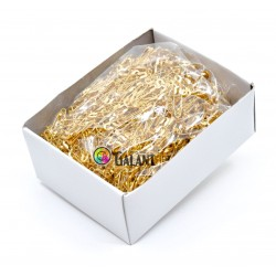 Brass Safety Pins ECONOMY - 19mm - 1728pcs/box (loose)