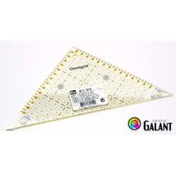 Quick triangle ruler (Omnigrid-Prym) 17,5 x 17,5cm - 1pcs