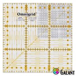 Universal ruler with grid (Omnigrid-Prym) 15 x 15cm - 1pcs