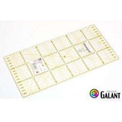Universal ruler with grid (Omnigrid-Prym) 15 x 30cm - 1pcs
