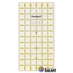 Universal ruler with grid (Omnigrid-Prym) 6 x 12inch - 1pcs