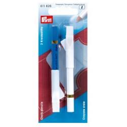 Dressmarker pencils + brush (Prym) - 1pcs/card