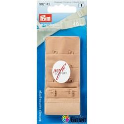 Bra extender 40 mm - Beige - 1pcs/card