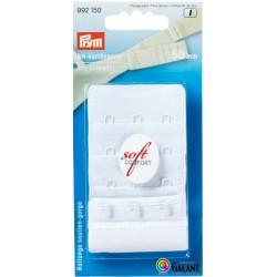 Bra extender 50 mm - White - 1pcs/card