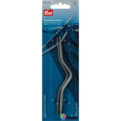 Cable-stitch pins 2,5 + 4 mm (Prym) - 2pcs/card