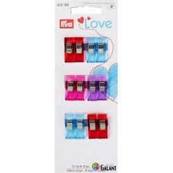 Fabric clips 2,6 cm PRYM LOVE (Prym) - 12pcs/card
