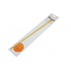 Bamboo Knitting needles - straight 35cm - 4,00mm - 1pair/polybag