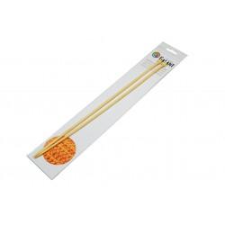 Bamboo Knitting needles - straight 35cm - 5,00mm - 1pair/polybag