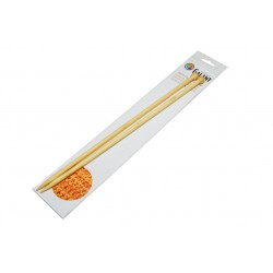 Bamboo Knitting needles - straight 35cm - 8,00mm - 1pair/polybag