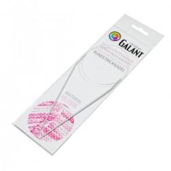 Aluminium Knitting needles - circular 80cm - 2,00mm - 1pcs/polybag