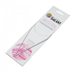 Aluminium Knitting needles - circular 80cm - 3,00mm - 1pcs/polybag