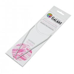 Aluminium Knitting needles - circular 100cm - 3,50mm - 1pcs/polybag