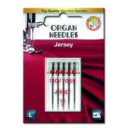 Machine Needles ORGAN JEANS 130 / 705H - 100 - 5pcs/plastic box/card