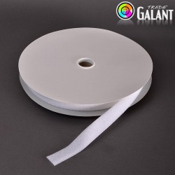 Velcro 25mm - colour: 990 (white) - Loops  - 25m/roll