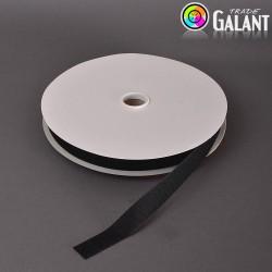 Velcro 25mm - colour: 170 (black) - Hooks - 25m/roll