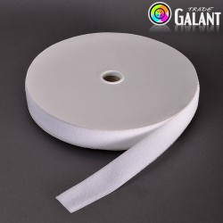 Velcro 50mm - colour: 990 (white) - Loops  - 25m/roll
