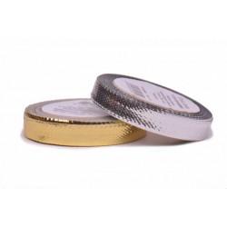 Metallic ribbon (117391), 10mm, 25m/bunch