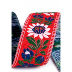 Embroidered ribbon (161 404 357), 35mm, 25m/bunch