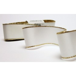 Taffeta Ribbon with Lurex (117 240 091-2) 9mm - 10m/bunch