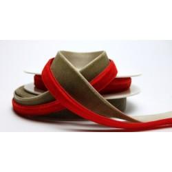 Velvet ribbon (197 952 164), 16mm, 5m/spool