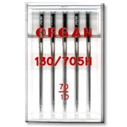Machine Needles ORGAN UNIVERSAL 130/705 H - 70 - 5pcs/plastic box