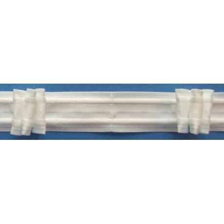 Curtain tape 8 197 189 26 - c. white - 26mm - 1m
