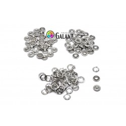 Press Buttons Baby - size 3 (10,5mm) nickel free - 100pcs/polybag
