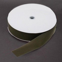Velcro 50mm - colour: 140 (olive) - Hooks - 25m/roll