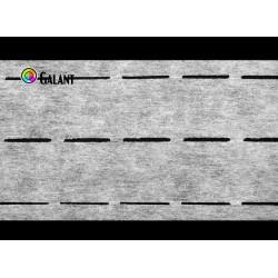 Waist shaper double 60g/m (10-35-35-10mm) - 100m/roll