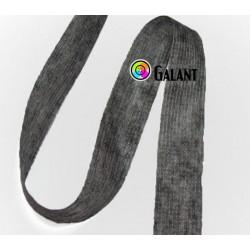 Fusible interfacing - dark grey - band 30mm/100m