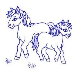 Embroidery for Children - Kanava 25x25cm - K7 - 1pcs