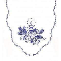 Pre-printed Cotton Tablecloth 90x50cm - K296 - 1pcs