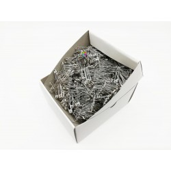 Safety Pins PREMIUM - 28x0,70mm - nickel plated - 1728pcs/box (11/12 - in bunches - 144buches/box)