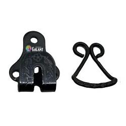 Steel Trouser Hooks 501 - black oxide - 1gros(144pcs)/box