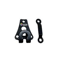 Steel Trouser Hooks 40222 - black oxide - 1gros(144pcs)/box