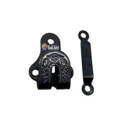 Steel Trouser Hooks 15255 1/2 - black oxide - 1gros(144pcs)/box