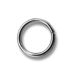 Sedlářské kroužky 21 - 4232800 - (nesvařované) - niklované - 200ks/krabice
