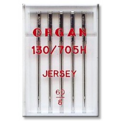 Machine Needles ORGAN JERSEY 130/705H - 60 - 5pcs/plastic box
