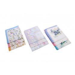 Ladies handkerchiefs L26 - 6pcs/polybag