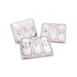 Ladies handkerchiefs L25 - 3pcs/box