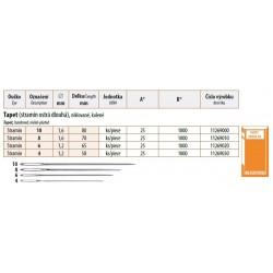 Embroidery needles Tapet 10 (1,6x80) - 25pcs/envelope, 40envelopes/box (1000pcs)