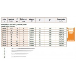 Embroidery Needles Chenille 24 (0,8x37mm) - 25pcs/envelope, 40envelopes/box (1000pcs)