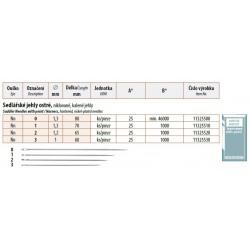 Saddler Needles with point 3 (1x60) - 25pcs/envelope, 40envelopes/box (1000pcs)