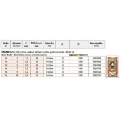 Hand needles Sharps gold eyes 10 (0,5x32) - 25pcs/envelope, 40envelopes/box (1000pcs)