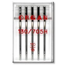 Machine Needles ORGAN UNIVERSAL 130/705H - 110 - 5pcs/plastic box