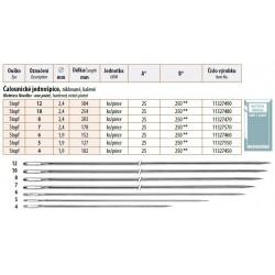 Mattress Needles - One point 8 (2,4x203) - 25pcs/envelope - 10envelopes/folie