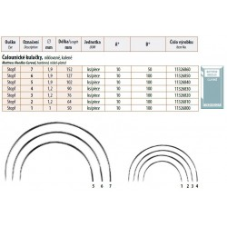 Mattress Needles Curved 7 (1,9x152) - 10pcs/envelope - 5envelopes/box