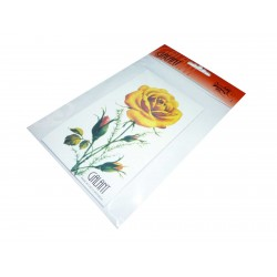 Needles map - Rose - 1pcs/polybag with card